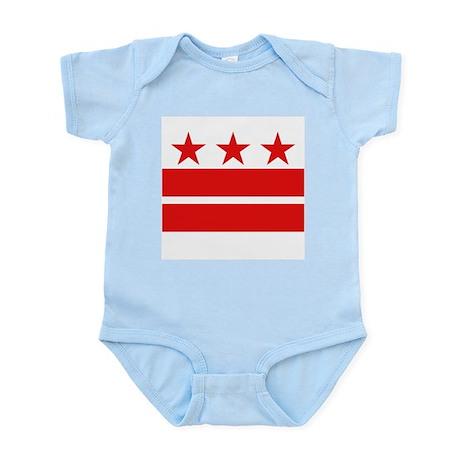 3 Stars 2 Bars Infant Bodysuit