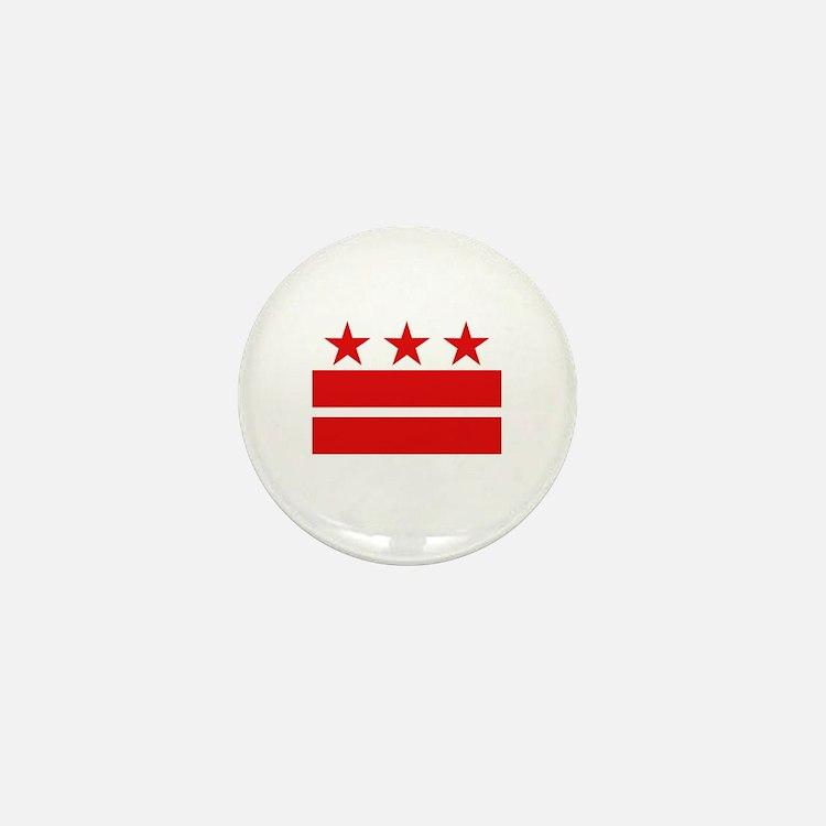 3 Stars 2 Bars Mini Button