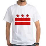 Washington dc Mens Classic White T-Shirts
