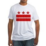 3 Stars 2 Bars Fitted T-Shirt
