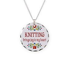Knitting Joy Necklace