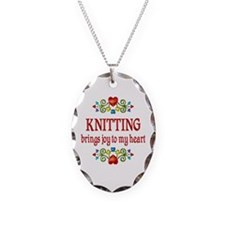 Knitting Joy Necklace
