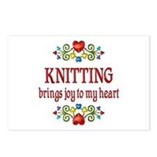 Knitting Joy Postcards (Package of 8)