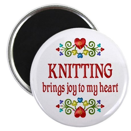 Knitting Joy Magnet