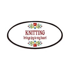 Knitting Joy Patches