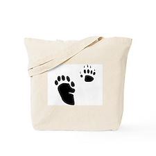 Skunk Tracks Tote Bag