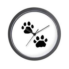 Lion Tracks Wall Clock