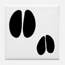 Javelina Tracks Tile Coaster