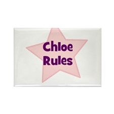 Chloe Rules Rectangle Magnet