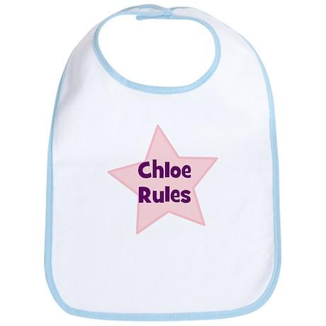 Chloe Rules Bib