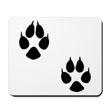 Fox Tracks Mousepad