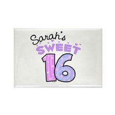 Sarah 16 Rectangle Magnet