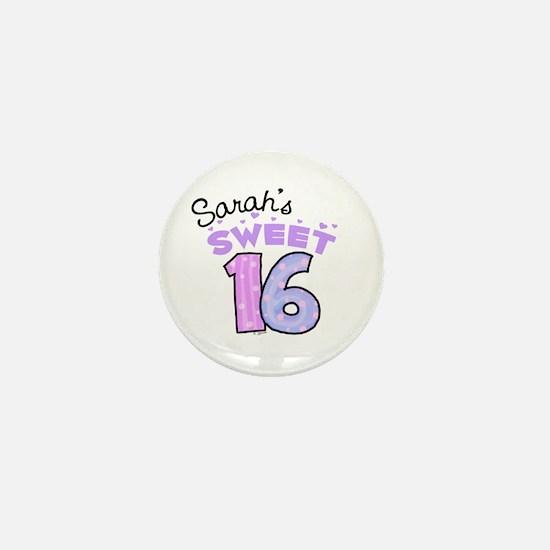 Sarah 16 Mini Button