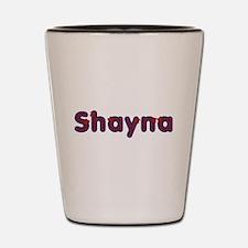 Shayna Red Caps Shot Glass