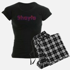 Shayla Red Caps Pajamas