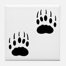 Badger Tracks Tile Coaster