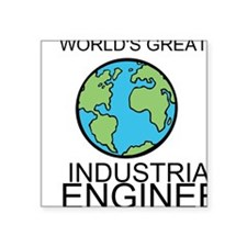 Worlds Greatest Industrial Engineer Sticker