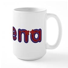 Serena Red Caps Mug