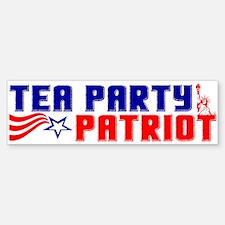 """""""Tea Party Patriot"""" Bumper Bumper Bumper Sticker"""