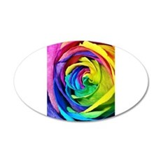 Roses are red, pink, blue, yellow..... Wall Decal