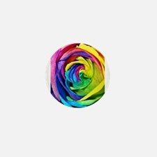 Roses are red, pink, blue, yellow..... Mini Button