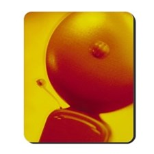 Fire alarm bell ringing Mousepad