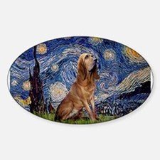Starry Night Bloodhound Decal