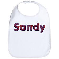 Sandy Red Caps Bib