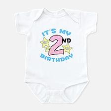 Second Birthday Infant Bodysuit