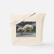 Arctic Fox Tote Bag