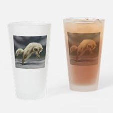 Arctic Fox Drinking Glass