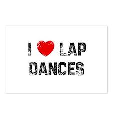 I * Lap Dances Postcards (Package of 8)