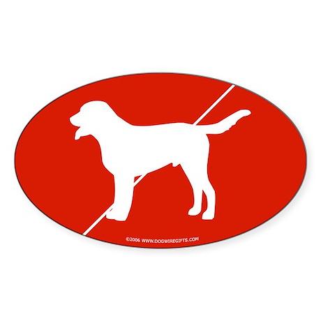 Switzerland Flag Swissie Oval Sticker