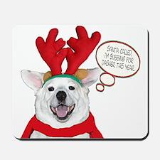 Husky Christmas Mousepad