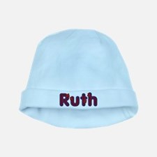 Ruth Red Caps baby hat
