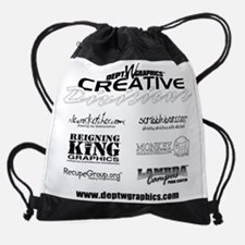 Purp. T-Back Drawstring Bag