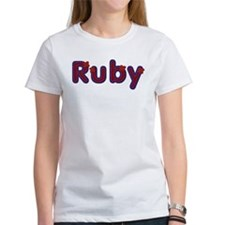 Ruby Red Caps T-Shirt