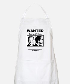 Bush Wanted Poster BBQ Apron