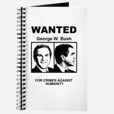 Bush Wanted Poster Journal