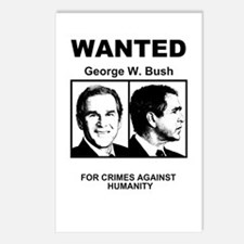 Bush Wanted Poster Postcards (Package of 8)