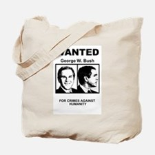 Bush Wanted Poster Tote Bag