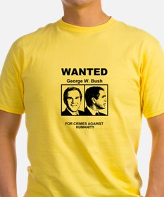 Bush Wanted Poster T