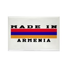 Armenia Made In Rectangle Magnet