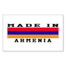 Armenia Made In Decal