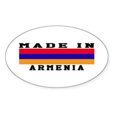Armenia Made In Decal
