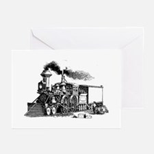 Steam Engine Greeting Cards (Pk of 10)
