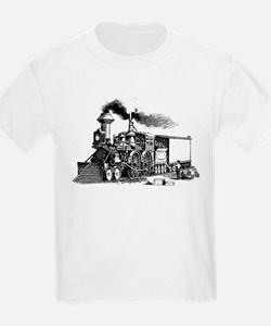 Steam Engine Kids T-Shirt