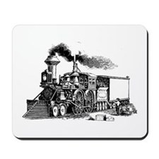 Steam Engine Mousepad