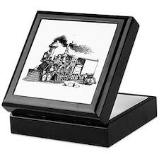 Steam Engine Keepsake Box