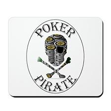 Poker Pirate Mousepad